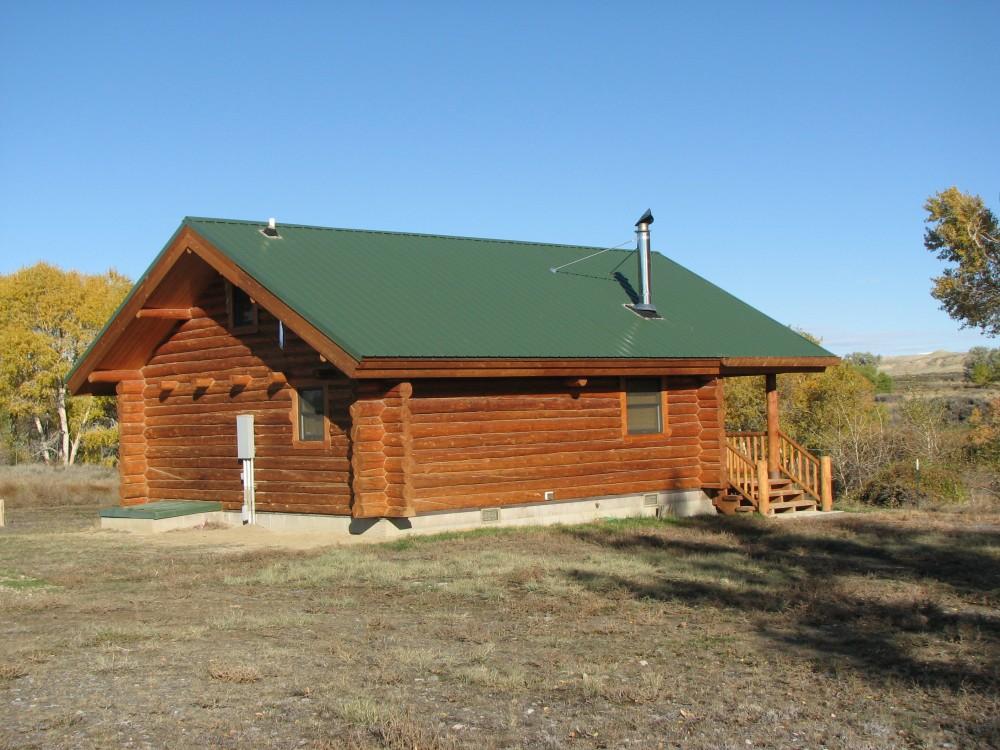 Log Cabin On Shoshone River River Property For Sale