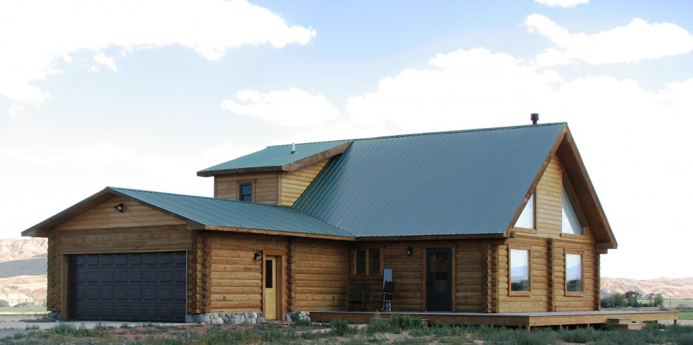 Log home cody wyoming log home for sale canyon real Wyoming home builders