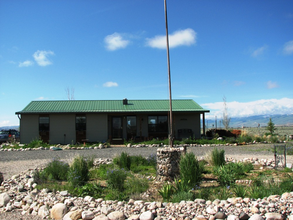 Sold western home for sale on 20 acres clark wyoming Wyoming home builders