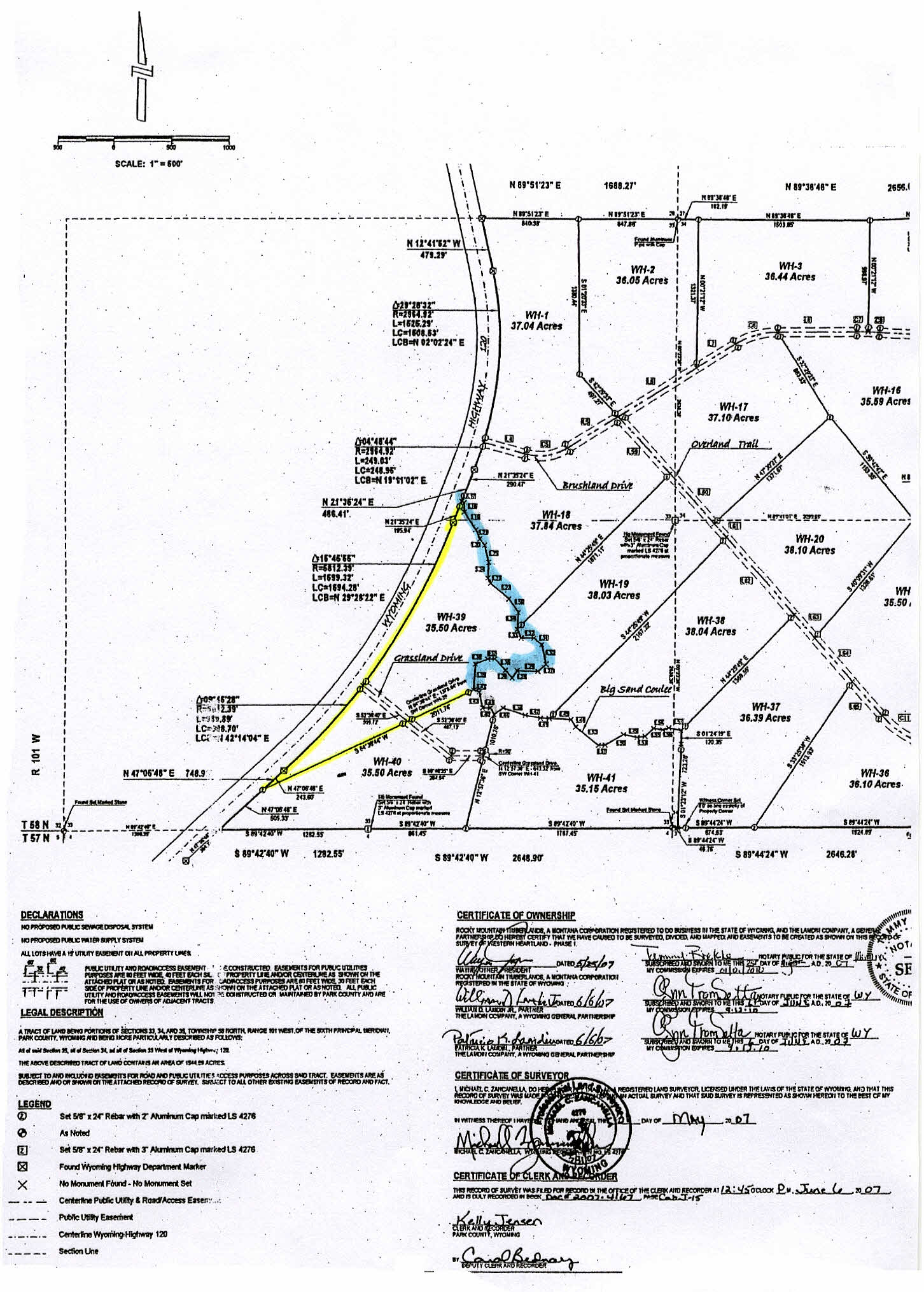 35 Acres With Creek Clark Wyoming Vacant Land For Sale